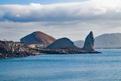 De Eilanden van de Galapagos, de Landschappen van Ecuador en Kustlijnen stock foto