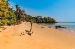 De eilanden van Guinea-Bissau Bijagos van West-Afrika Stock Foto