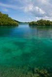 De Eilanden van het koraalrif en van de rots Palau 2680 Stock Afbeeldingen