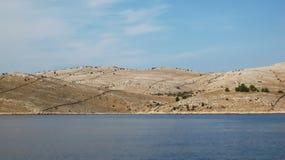 De eilanden van Kornati Royalty-vrije Stock Afbeelding