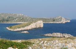 De eilanden van Kornati Stock Afbeeldingen