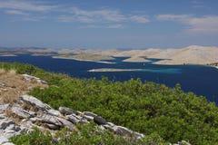 De eilanden van Kornati Royalty-vrije Stock Afbeeldingen