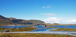 De Eilanden van Lofoten Stock Afbeeldingen