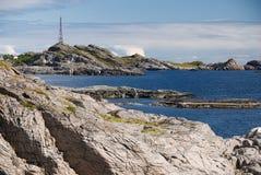 De Eilanden van Lofoten Stock Foto