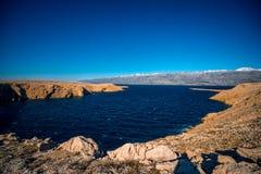 De eilanden van Pag royalty-vrije stock fotografie