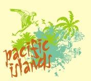 De eilanden van Pasific Royalty-vrije Stock Foto's