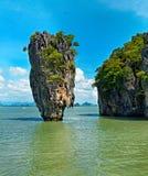 De eilanden van Phing Kan van Khao Royalty-vrije Stock Foto
