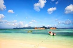 De eilanden van Seychellen Royalty-vrije Stock Afbeeldingen