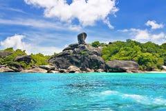 De Eilanden van Similan Stock Afbeeldingen