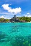 De Eilanden van Similan Stock Fotografie