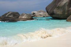 De eilanden van Similan, Thailand royalty-vrije stock foto's