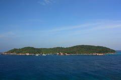 De eilanden van Similan, Thailand stock foto's