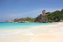 De eilanden van Similan, Thailand stock foto