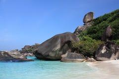 De eilanden van Similan, Thailand, Phuket stock fotografie