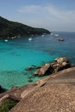 De eilanden van Similan, Thailand, Phuket Stock Foto