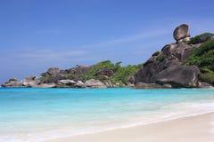 De eilanden van Similan, Thailand, Phuket stock afbeelding