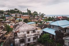 De Eilandenhaven Blair van India Andaman stock afbeelding