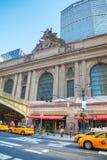 De Eind oude ingang van Grand Central Stock Fotografie