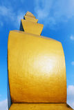 De eindeloze Kolom van Constantin Brancusi Royalty-vrije Stock Foto's