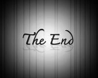 De eindFilm stock illustratie
