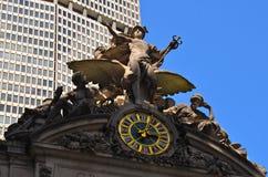 De Eindklok van Grand Central, NYC, de V.S. Royalty-vrije Stock Afbeelding
