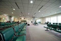 De EindPlaatsing van de luchthaven stock foto's