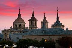 de el escorial洛伦佐修道院圣・西班牙 免版税库存图片