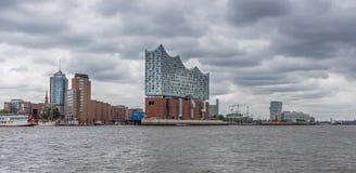 De Elbphilharmonie-concertzaal, Hamburg stock afbeeldingen