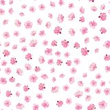 De Elegante bloemenstof Stock Afbeelding