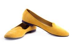 De elegante de zomer vrouwelijke schoenen Stock Afbeelding