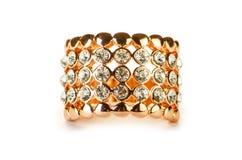De elegante die juwelen op het wit worden geïsoleerd Royalty-vrije Stock Afbeelding