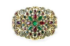 De elegante die juwelen op het wit worden geïsoleerd Royalty-vrije Stock Afbeeldingen