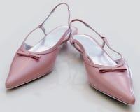 De elegante schoenen van vrouwen stock foto's