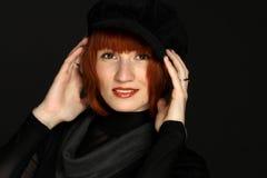 De elegante vrouw van het portret Stock Afbeeldingen