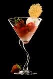 De elegantie van het dessert Royalty-vrije Stock Afbeeldingen
