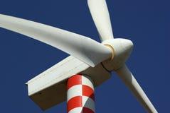 De elektriciteit van de generator aan wind Stock Foto
