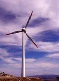 De elektriciteit van Eolic Royalty-vrije Stock Afbeeldingen