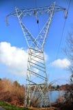 De elektriciteitspyloon Stock Afbeelding