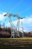 De elektriciteitspyloon Stock Afbeeldingen