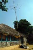 De elektrificatie van het dorp Royalty-vrije Stock Foto