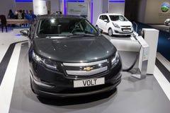 De elektrische auto van de Volt van Chevrolet stock afbeeldingen