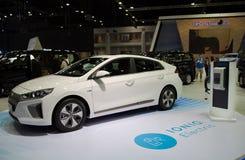 De Elektrische Auto van Hyundai Ioniq Royalty-vrije Stock Fotografie