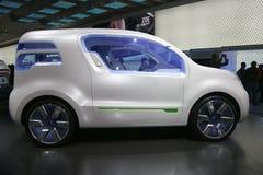 De elektrische auto van Renault Stock Afbeeldingen