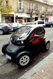 De elektrische auto van Renault Twizy ZE Royalty-vrije Stock Foto