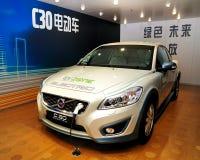 De Elektrische auto van VOLVO C30 Stock Foto's