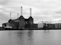 De elektrische centrale van Battersea Stock Foto