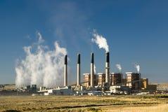 De Elektrische centrale van Bridger stock foto