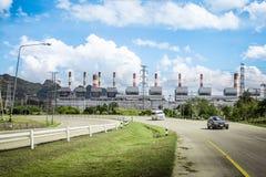 De elektrische centrale van de elektriciteit Royalty-vrije Stock Foto's