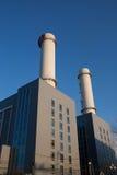 De Elektrische centrale van het gas Royalty-vrije Stock Foto