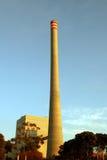De Elektrische centrale van het gas Stock Afbeelding